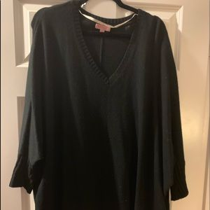 Lilly Pulitzer Black Cashmere Sweater